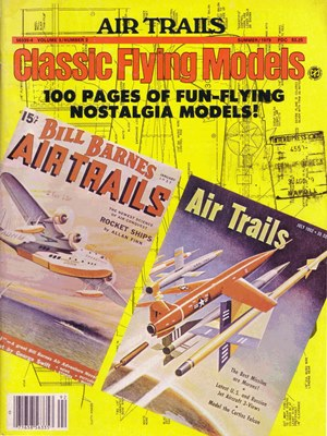 Classic Flying Models Sammer 1979