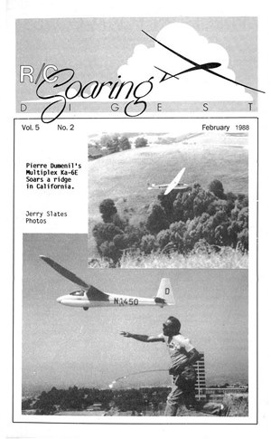 RC Soaring Digest February 1988