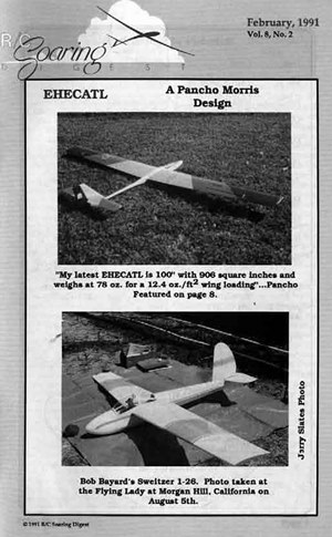 RC Soaring Digest February 1991