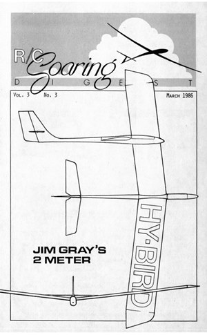 RC Soaring Digest March 1986