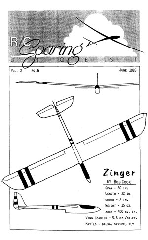 RC Soaring Digest June 1985