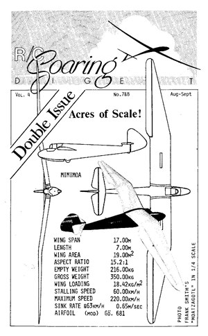 RC Soaring Digest August-September 1987