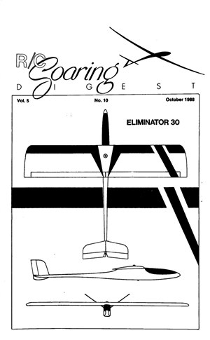 RC Soaring Digest October 1988