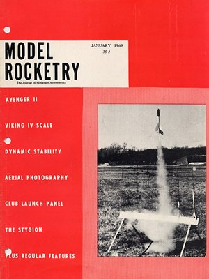 Model Rocketry January 1969
