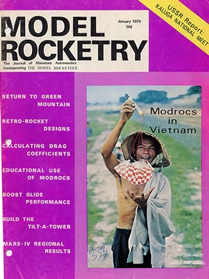 Model Rocketry January 1970