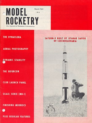 Model Rocketry March 1969