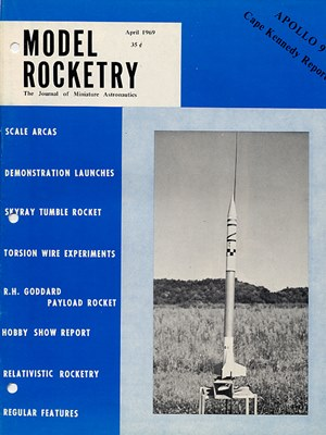 Model Rocketry April 1969