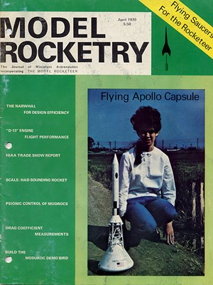Model Rocketry April 1970