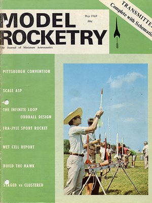 Model Rocketry May 1969