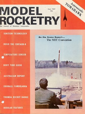 Model Rocketry June 1969