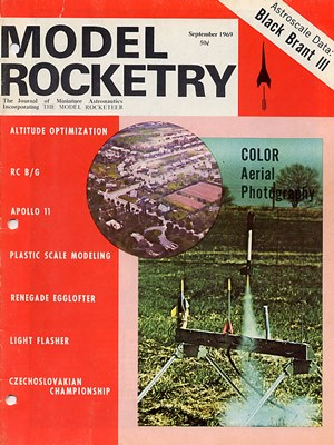 Model Rocketry September 1969