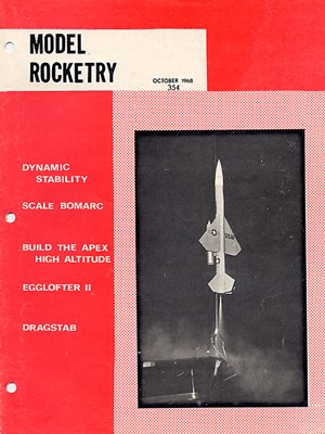 Model Rocketry October 1968
