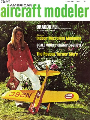 American Aircraft Modeler January 1971