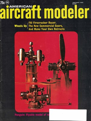 American Aircraft Modeler January 1972