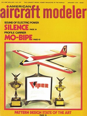 American Aircraft Modeler January 1973