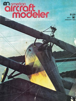 American Aircraft Modeler January 1975