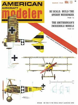 American Aircraft Modeler March 1968