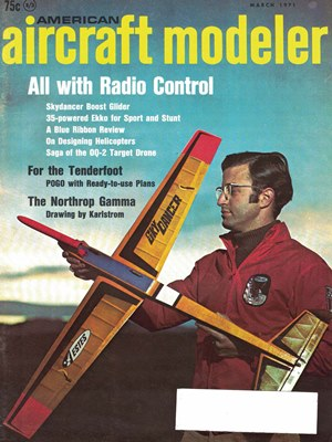 American Aircraft Modeler March 1971