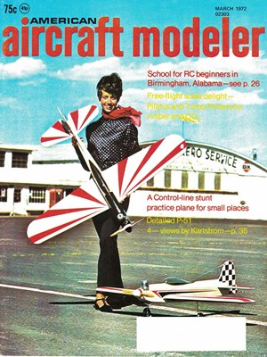 American Aircraft Modeler March 1972