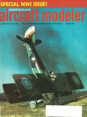 American Aircraft Modeler March 1974