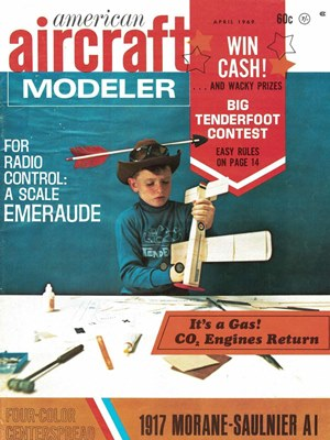 American Aircraft Modeler April 1969