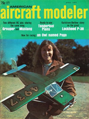 American Aircraft Modeler April 1971