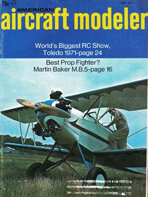 American Aircraft Modeler May 1971