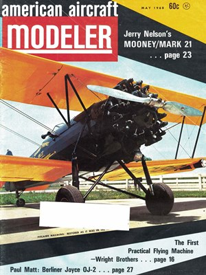 American Aircraft Modeler May 1968