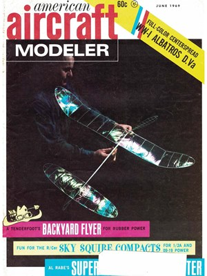 American Aircraft Modeler June 1969