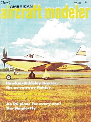 American Aircraft Modeler June 1971