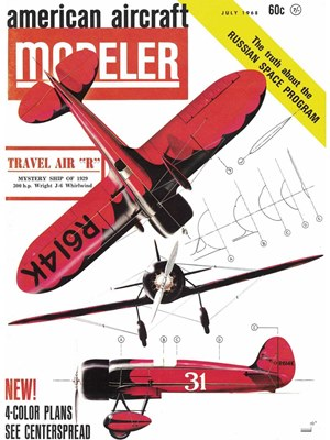 American Aircraft Modeler July 1968