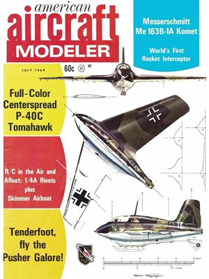 American Aircraft Modeler July 1969