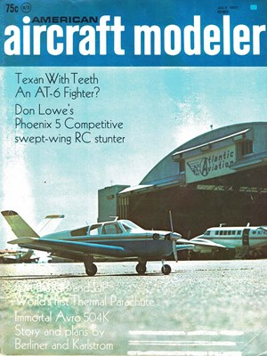 American Aircraft Modeler July 1971