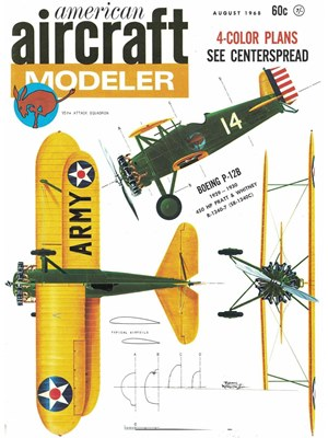 American Aircraft Modeler August 1968