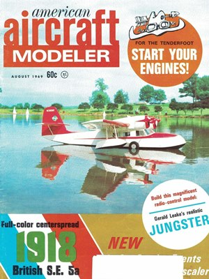 American Aircraft Modeler August 1969