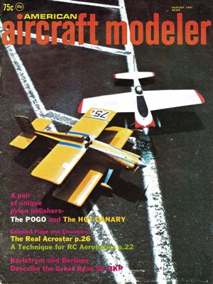American Aircraft Modeler August 1971