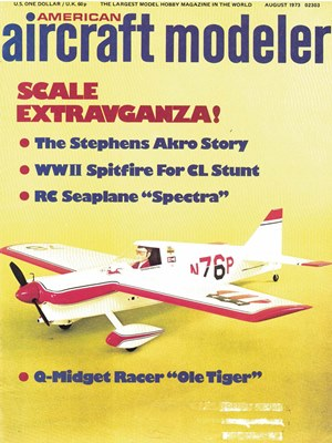 American Aircraft Modeler August 1973