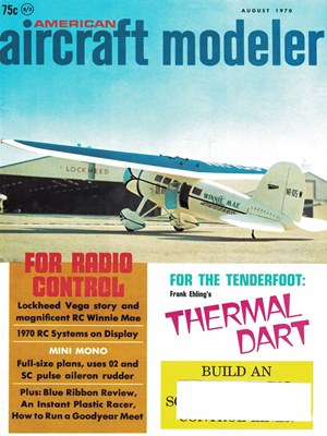 American Aircraft Modeler August 1970