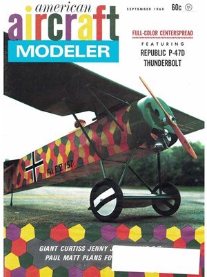 American Aircraft Modeler September 1968