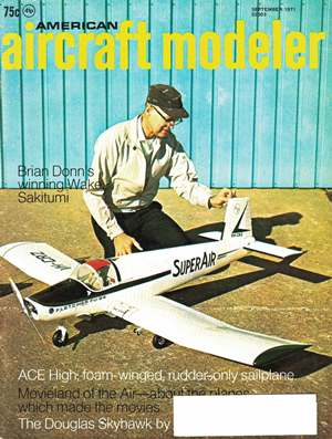 American Aircraft Modeler September 1971