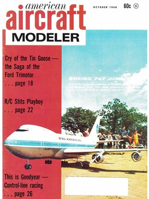 American Aircraft Modeler October 1968