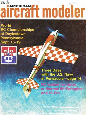 American Aircraft Modeler October 1971