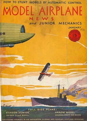 Model Airplane News January 1931