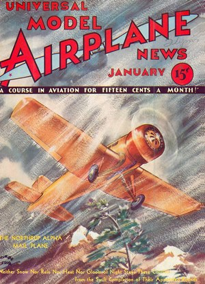 Model Airplane News January 1933
