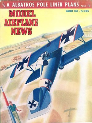 Model Airplane News January 1950