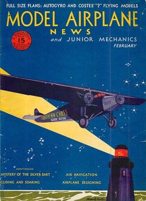 Model Airplane News February 1931