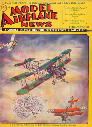 Model Airplane News February 1932