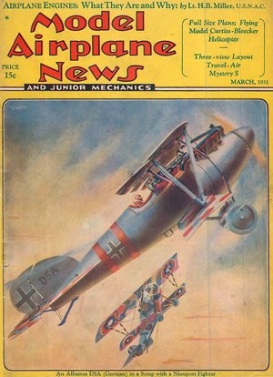 Model Airplane News March 1931
