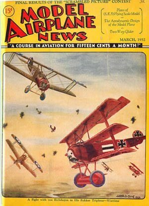 Model Airplane News March 1932