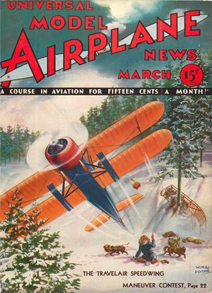 Model Airplane News March 1933